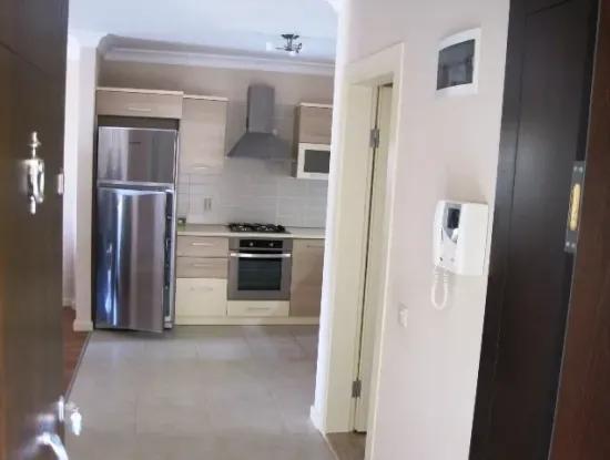 3 Zimmer 1 Wohnzimmer Wohnung Zu Verkaufen Mit Meerblick In Marmaris Mit Pool
