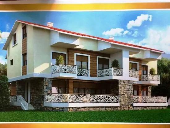 3 Zimmer 1 Wohnzimmer Wohnung Zu Verkaufen Mit Pool Marmaris, Icmeler Lage