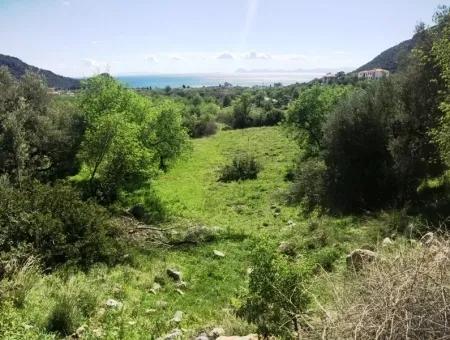 Datça Mesudiye Mahalle Yatırım İçin Arsa 1172M2 Deniz Manzara