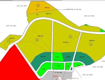 Marmaris Merkezinde 150000 M2 5 Yıldızlı Tatil Köyü,Otel İçin Uygun Satılık Arsa