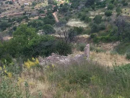 Muğla İli Akbük İlçesi Zeytinköy Mahallesinde 3500 M2 Arsa İçerisinde 2 Adet Evi Mevcut İmarlı Satılık Arsa